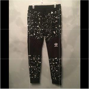 🚨RARE🚨adidas paint splatter sweatpants/joggers